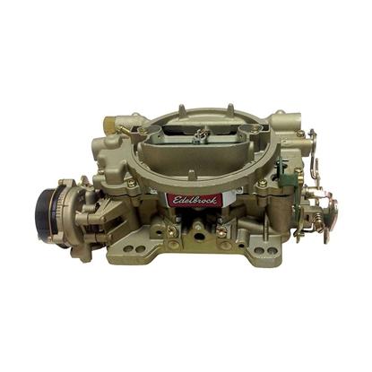 Edelbrock 1409 Performer Series Marine Carb 600CFM Square-Flange Elect