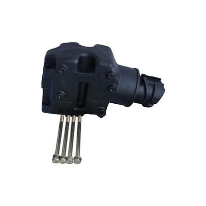 Aluminum Exhaust Riser 4.3L/262ci to 5.7L/350ci Mercruiser Style Exhaust