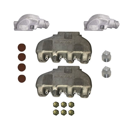 Big Block Chevrolet Performance Aluminum Exhaust Manifold Kit