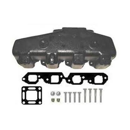 Exhaust Manifold 7.4L/454 & 502ci Big Block Merc Style Iron