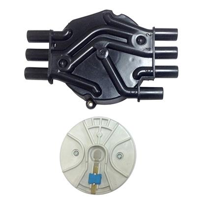 Distributor Cap and Rotor HVS V6