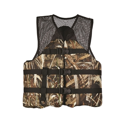 Absolute Outdoor Max 5 Mesh Classic Sport Camo Vest (XLarge)