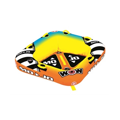 World of Watersports Mojo 1 or 2 Person Towable Tube (16-1060)