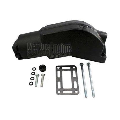 Exhaust Riser 4.3L/262ci to 5.7L/350ci Volvo Style Exhaust