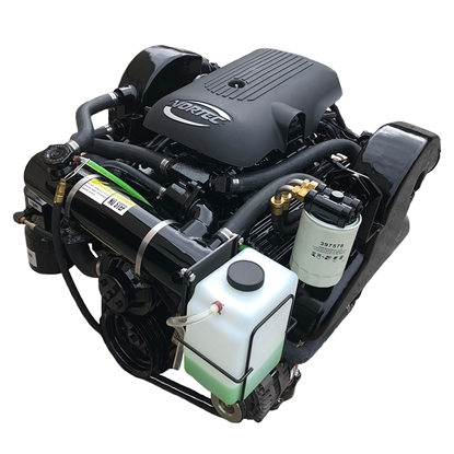 5.7L Complete Jet Boat Engine Package with Catalyst