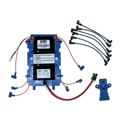 CDI Electronics 113-6367K 1 Power Pack Kit Johnson/Evinrude - 6 Cyl (1991-2006)