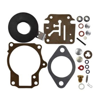 Johnson/Evinrude Carburetor Kit with Float Replaces 396701