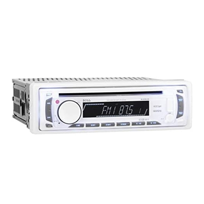 BOSS Audio Systems MR648W Marine Single-DIN CD MP3 Player Receiver