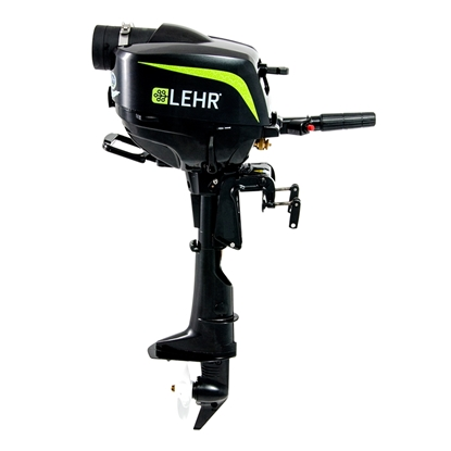 "Lehr 2.5 Horsepower Propane Powered Outboard Engine LP2.5S (Short Shaft 15"")"