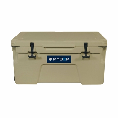Kysek 75 Liter Ultimate Ice Chest Boat Cooler Tan SECTT075L02